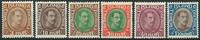Islande 1931-33 - 6 Christian X -  Neuf avec ch.