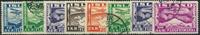 Island 1934 - AFA nr. 175-80 - Stemplet