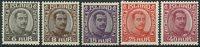 Island 1920-22 - 5 Postfriske Chr. X