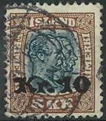 Islande 1930 - AFA no 141 - Obl.