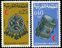 Marocco - YT 557-58 - Mint