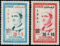 Marocco - YT 453-54 - Mint