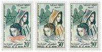 Marokko - YT 431-33 - Postfrisk