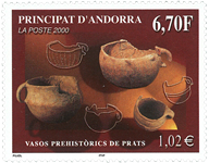 Andorre Fr. - Préhistoire - Timbre neuf