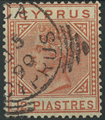 Cypern 1886 - AFA nr. 23II