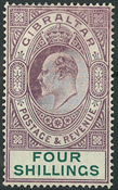 Gibraltar 1904-08 - AFA nr. 54 - Ubrugt