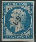 France 1853 - AFA no. 14 - cancelled