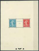 Frankrig 1927 - AFA nr. 215-16 - Ubrugt