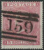 England 1867 - AFA nr. 35 - Stemplet