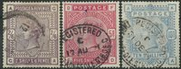 Grande-Bretagne 1883-84 - AFA no. 82-84 - Oblitérés