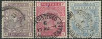 England 1883-84 - AFA nr. 82-84 - Stemplet