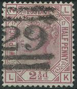 England 1875 - AFA nr. 40 - Stemplet