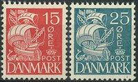 Danmark 1933 - AFA 203 + 205 - Postfrisk
