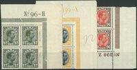 Danmark 1918-20 - AFA 100 + 104 + 109 - 4-blok - Postfrisk