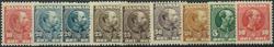 Danmark 1904-06 - AFA nr. 47-53 + 48a-49a - Postfrisk