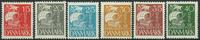 Danemark 1927 - AFA 169-74 - Neuf