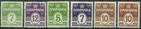 Danemark 1926-30 - AFA 167-68+193-85 + 185a - Neuf