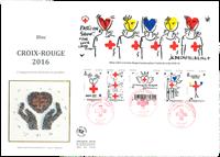 France - Grde Env.BF Croix Rouge 2016 E - Env.premier jour