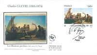 Frankrig - Gleyre 2016 FDC - Førstedagskuvert