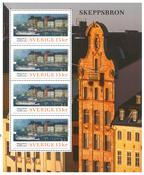 Suède - Ancien pont de Stockholm - Feuillet neuf