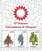 Monaco - Exposition de fleurs 2017 - Bloc-feuillet neuf