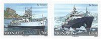 Monaco - Skibe - Postfrisk sæt 2v