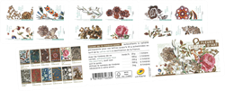 Frankrig - Arts & Crafts blomster - Postfrisk hæfte