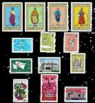 Algeriet - Årgang 1971 postfrisk komplet