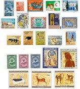 Algeriet - Årgang 1967 postfrisk komplet