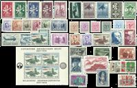 Belgique - Année complète 1957, neuf
