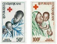 République Centre Afrique - YT PA36-37 - Neuf