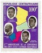 République Centre Afrique - YT PA27 - Neuf