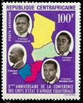 Centralafrika - YT PA27 - Postfrisk