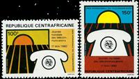 Centralafrika - YT PA219-20 - Postfrisk