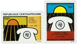 République Centre Afrique - YT PA219-20 - Neuf