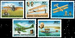 Centralafrika - YT PA190-94 - Postfrisk