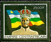 Centralafrika - YT PA186 - Postfrisk