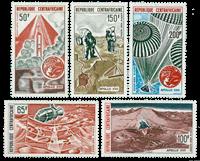 Centralafrika - YT PA124-28 - Postfrisk