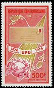 Centralafrika - YT PA130 - Postfrisk