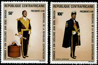 Centralafrika - YT PA132-33 - Postfrisk