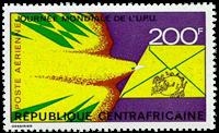 Centralafrika - YT PA119 - Postfrisk