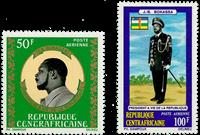 Centralafrika - YT PA122-23 - Postfrisk