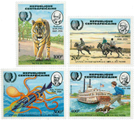 République Centrafricaine - YT 666-69 - Neuf