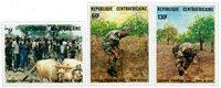 République Centre Afrique - YT 680-82 - Neuf