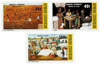 République Centrafricaine - YT 646-48 - Neuf