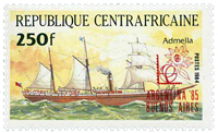 Central Africa - YT 657 - Mint