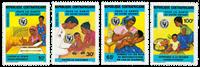 Centralafrika - YT 636-39 - Postfrisk