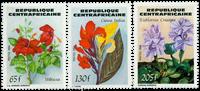 Centralafrika - YT 643-45 - Postfrisk