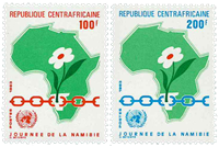 Africa centrale - YT 592-93 - Nuovo