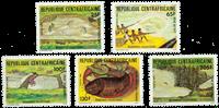 République Centrafricaine - YT 594-98 - Neuf